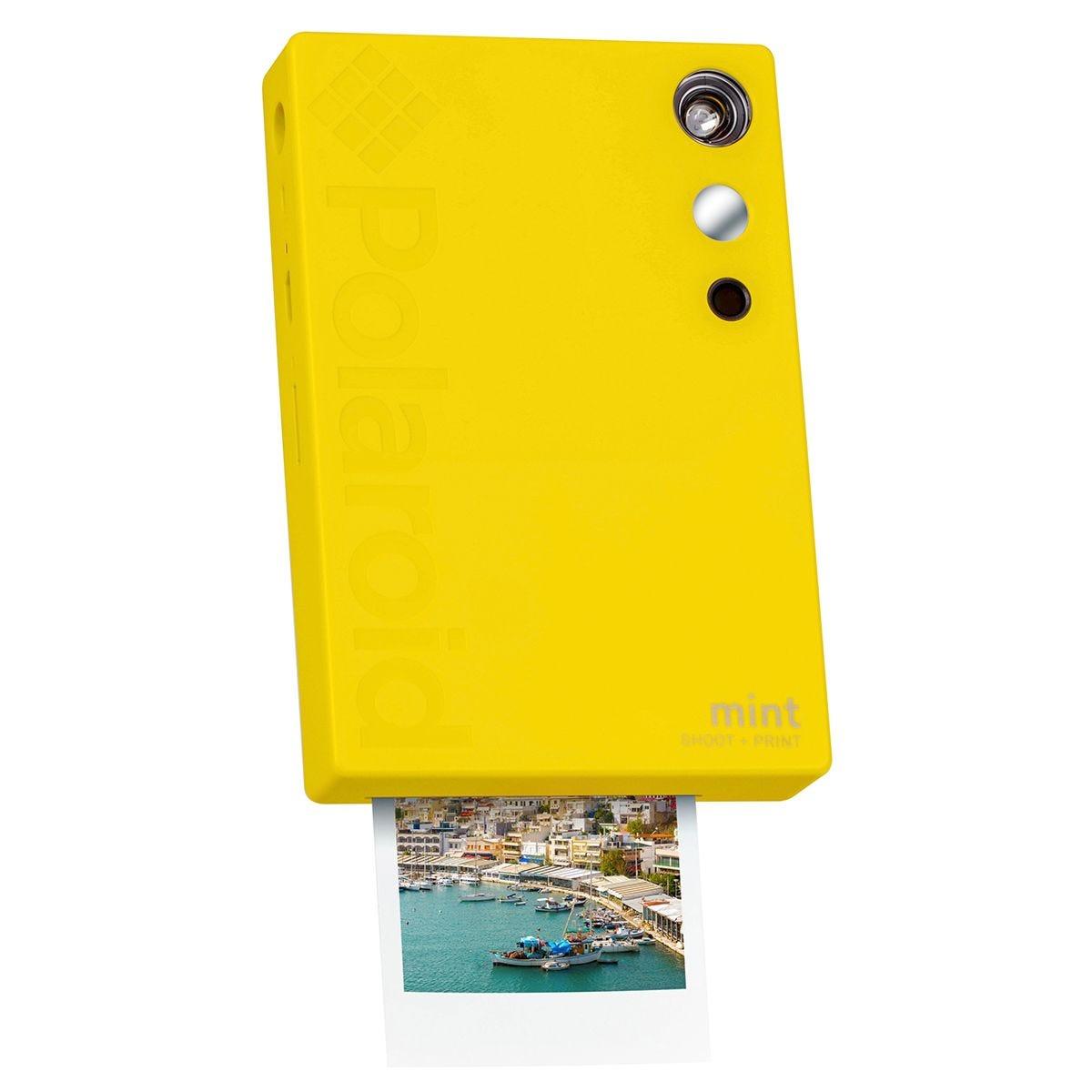 Polaroid Mint Instant Digital Camera - Yellow
