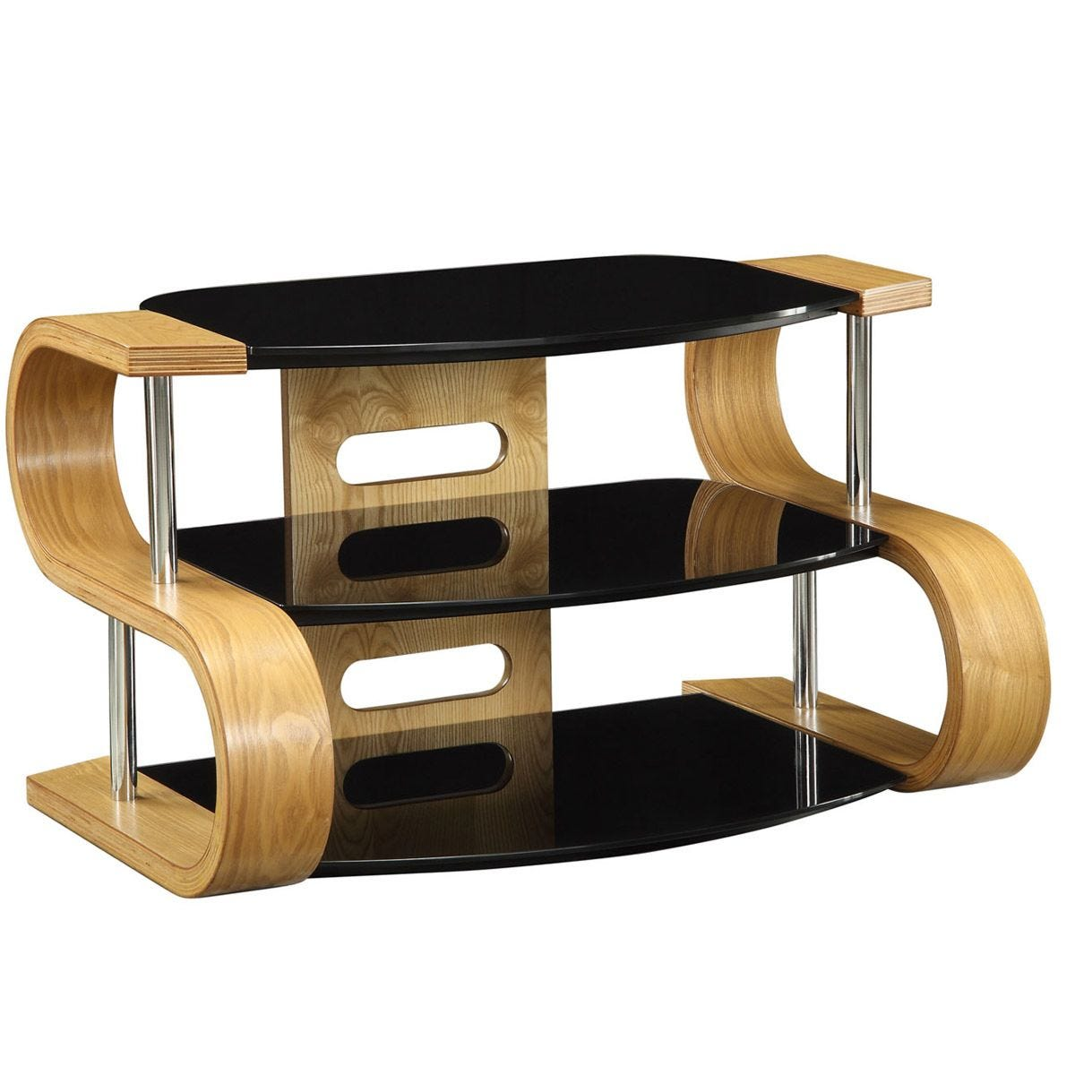 Jual Florence Curve Oak TV Stand 850