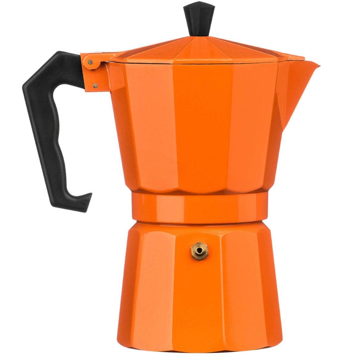 Premier Housewares 6-Cup Espresso Maker - Orange