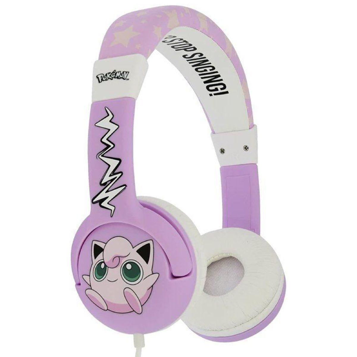 OTL Pokemon Jigglypuff Pink Kids Headphones