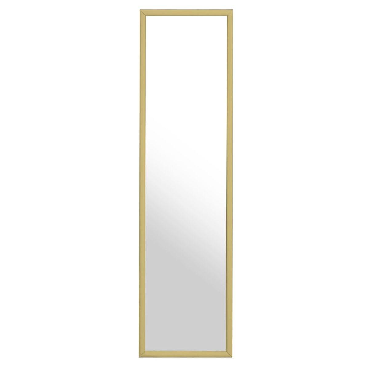Premium Housewares Over Door Mirror - Gold