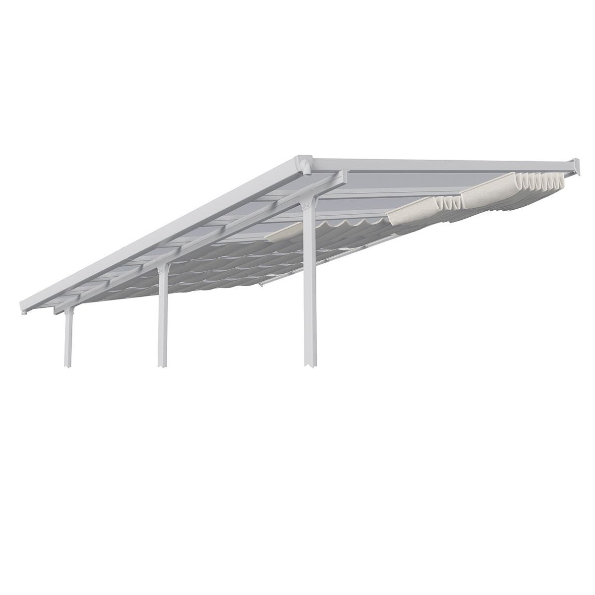 Palram Patio Cover Roof Blinds 3m x 7.3m - White