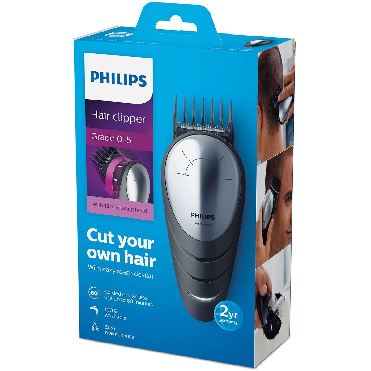 Philips Rechargeable DIY Clippers
