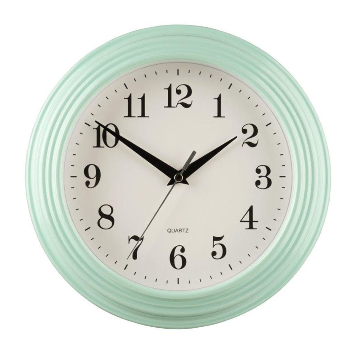 Wall Clock - Pale Blue