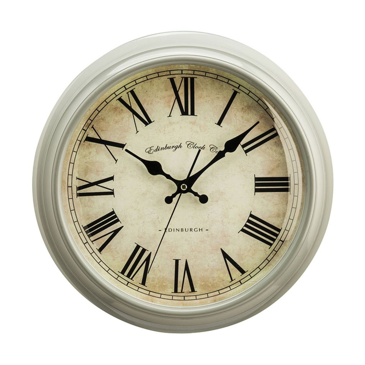 Plastic Wall Clock - Vermont Grey