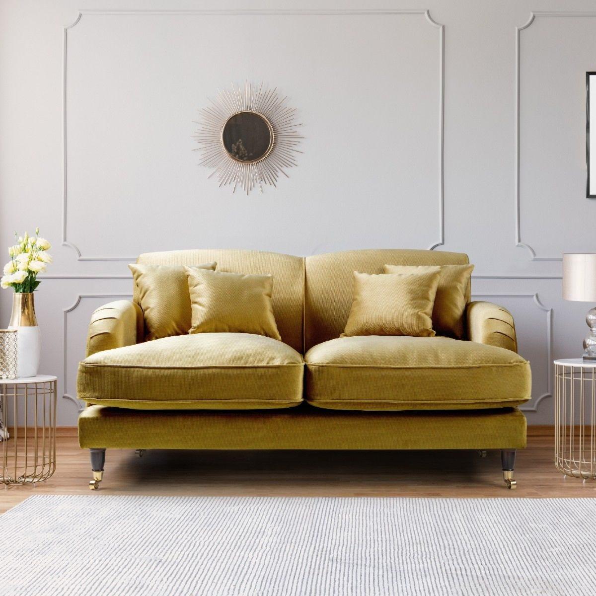 Oxford 2 Seater Sofa Malta Gold