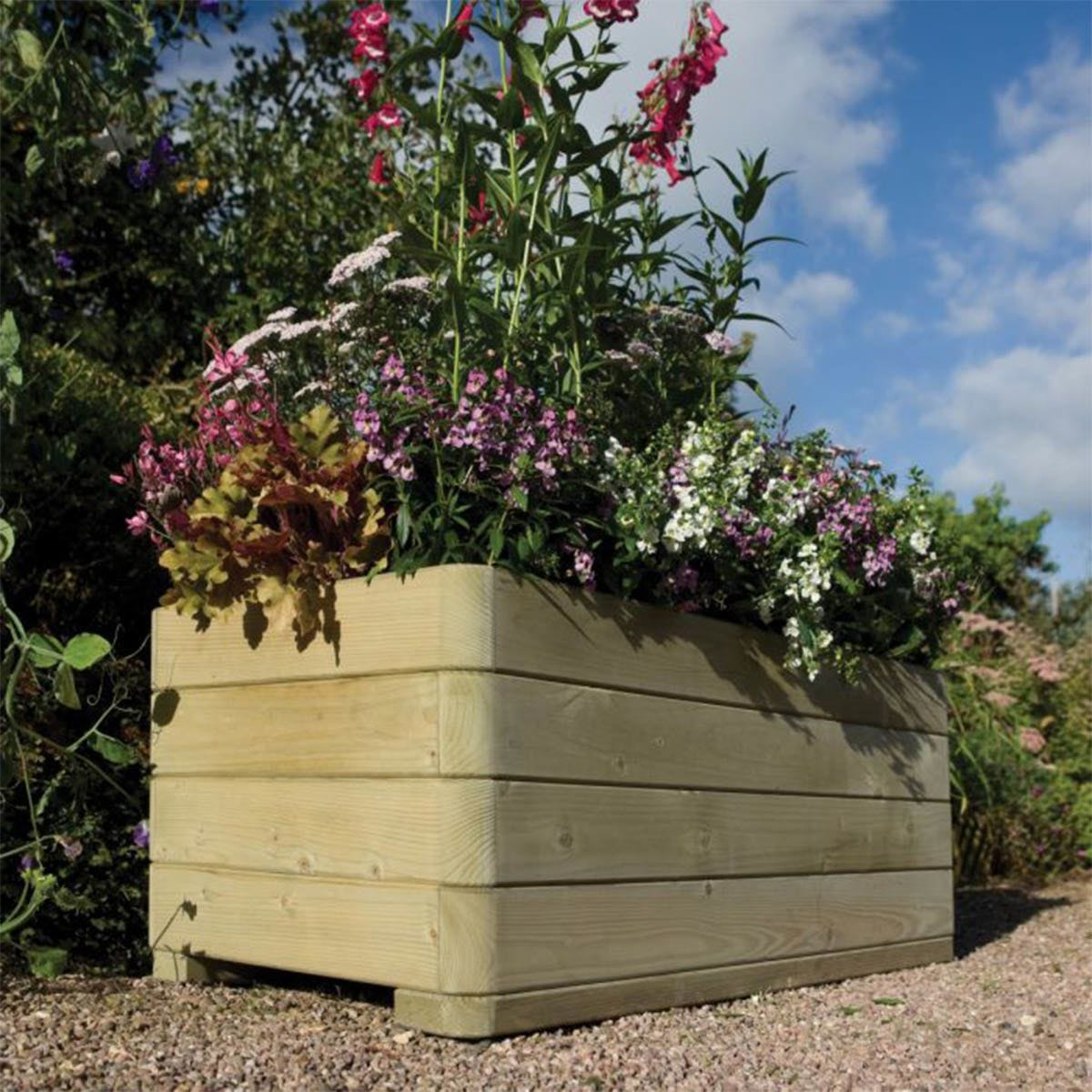 Rowlinson Marberry Rectangular Garden Planter