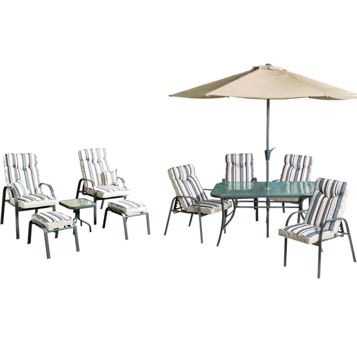 Provence 4-Seater Dining Set and 2-Seater Lounge Set