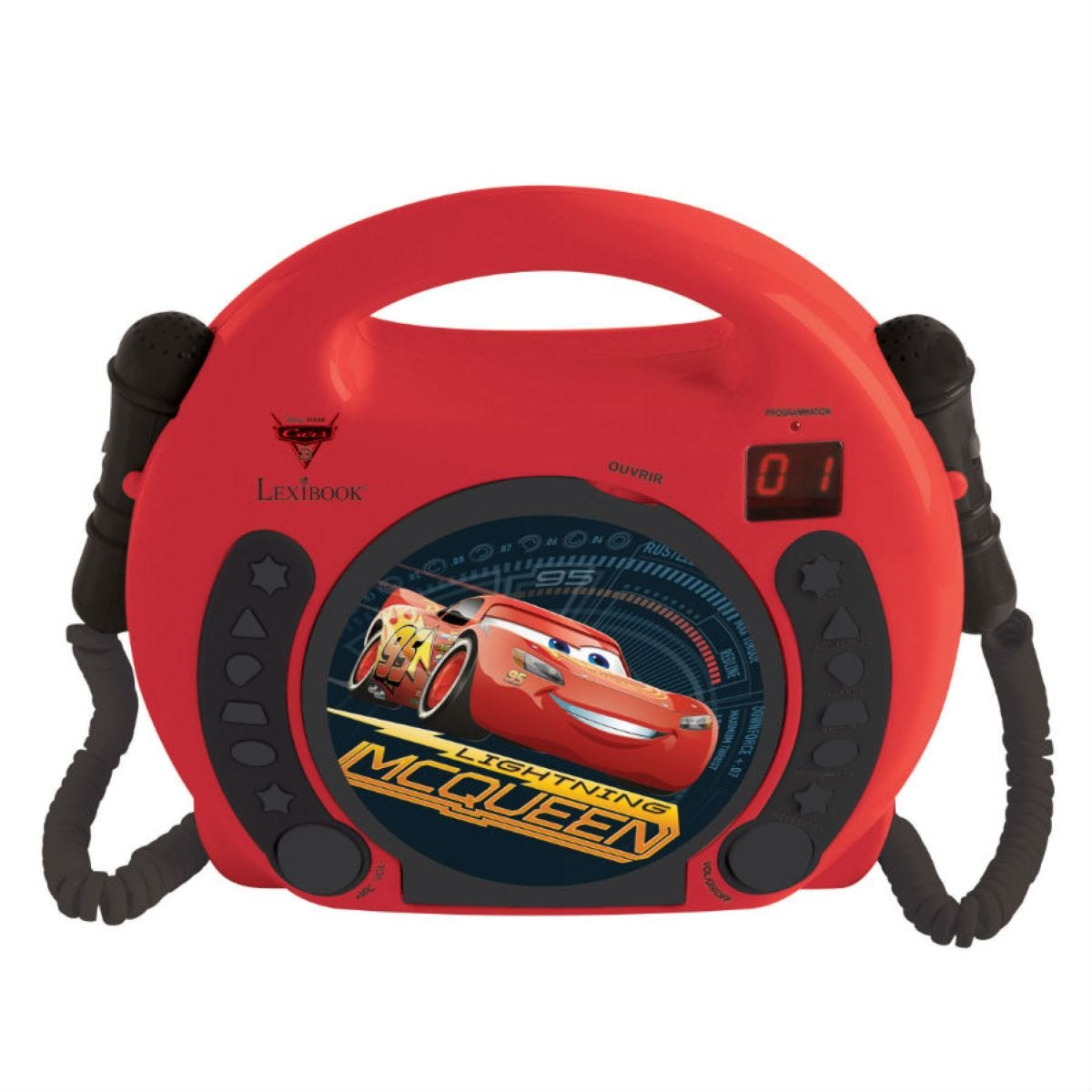 Disney Cars Sing-Along CD-Player with 2 Microphones
