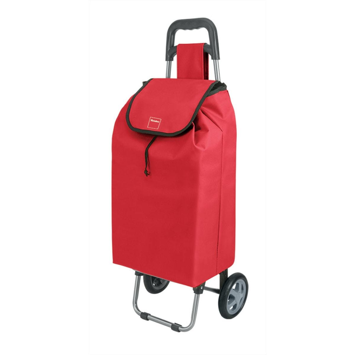Metaltex 40L Daphne Shopping Trolley - Red