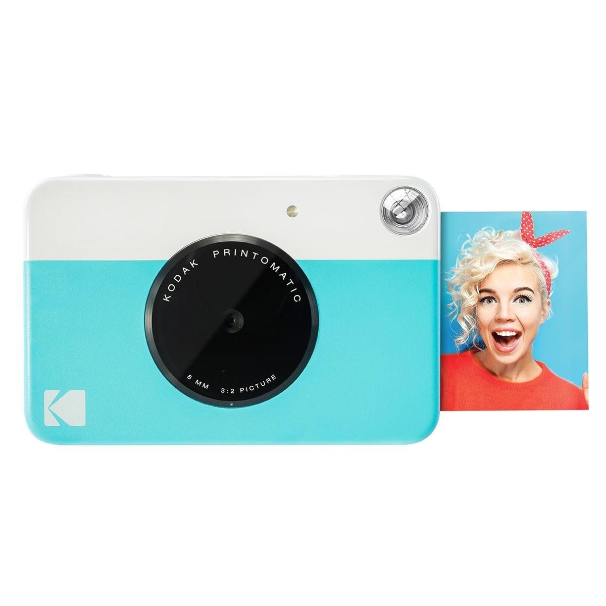 Kodak Printomatic Instant Digital Camera - Blue
