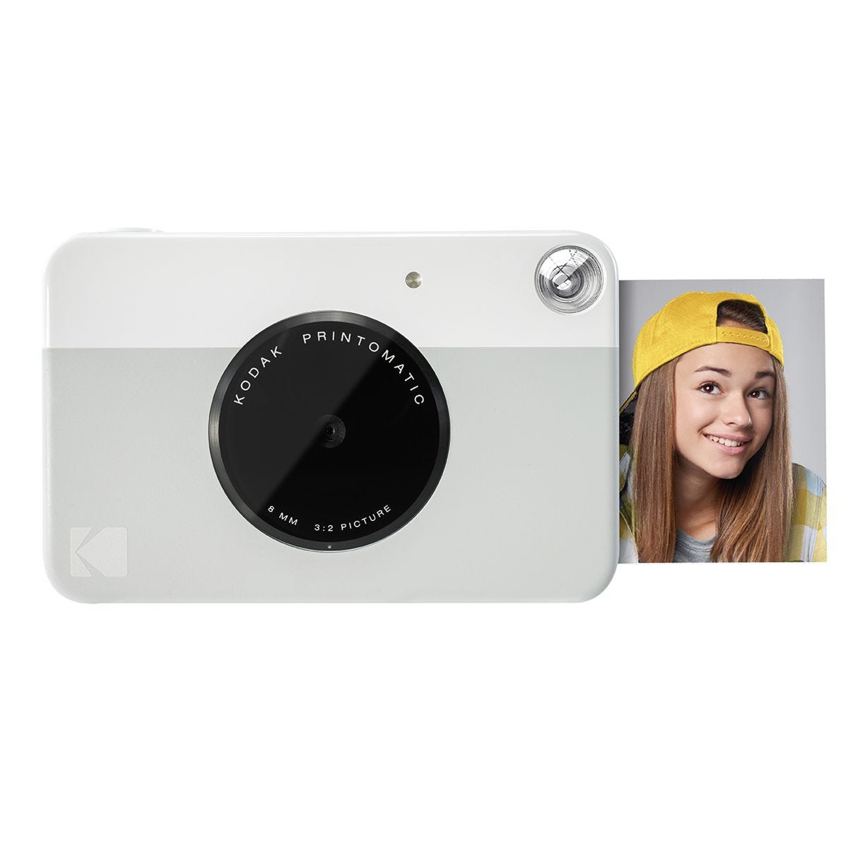 Kodak Printomatic Digital Instant Print Camera - Grey