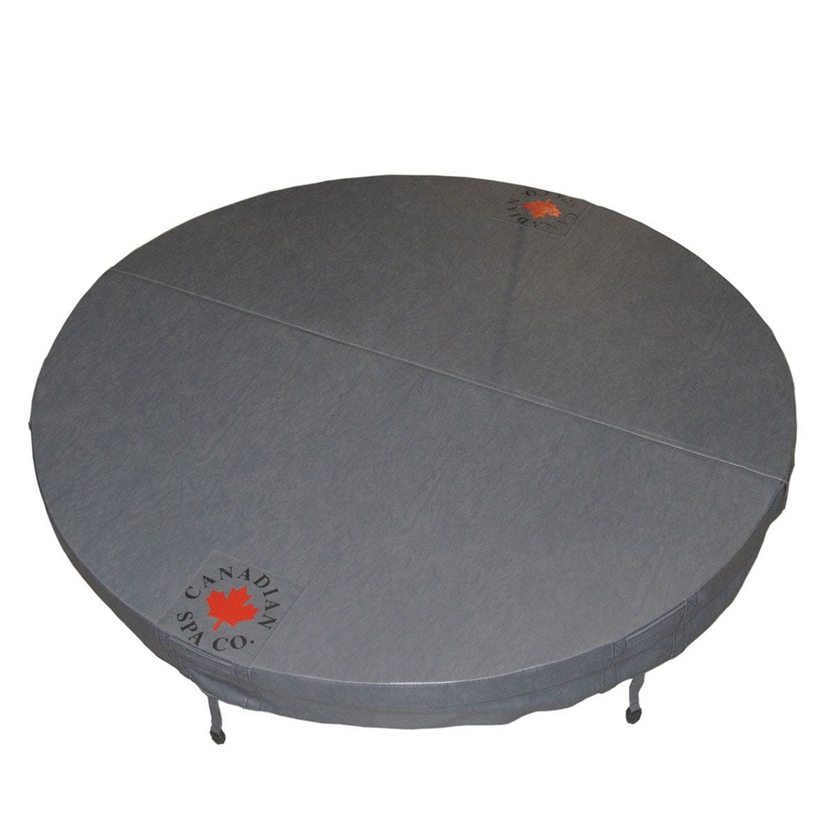 Canadian Spa Round Hot Tub Cover - Grey