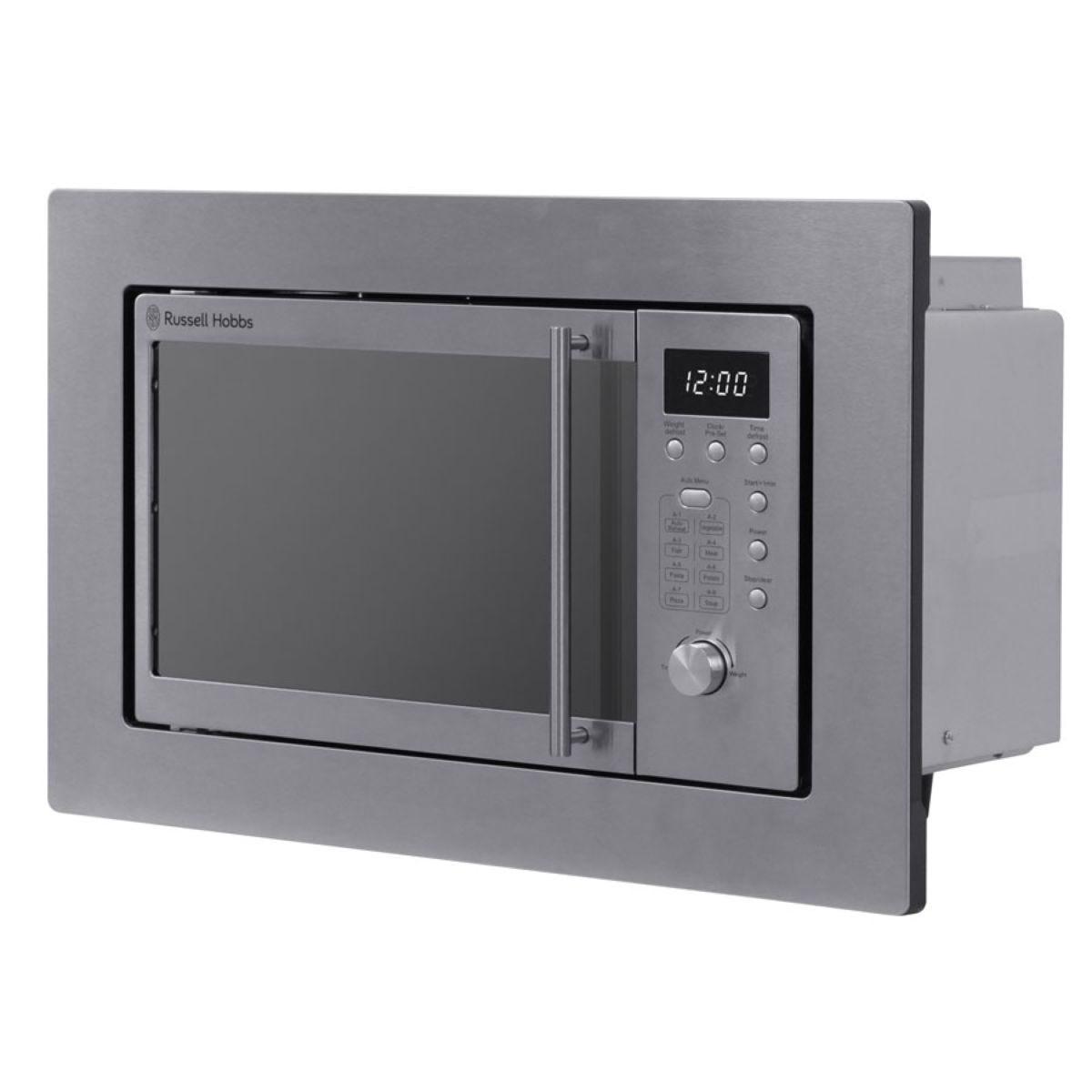 Russell Hobbs RHBM2001 20L Built–In Digital 800W Microwave – Silver