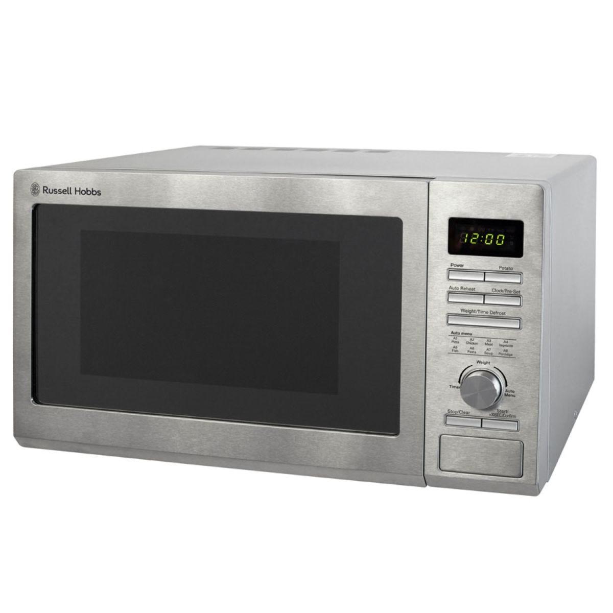 Russell Hobbs RHM2563 900W 25L Digital Microwave – Silver