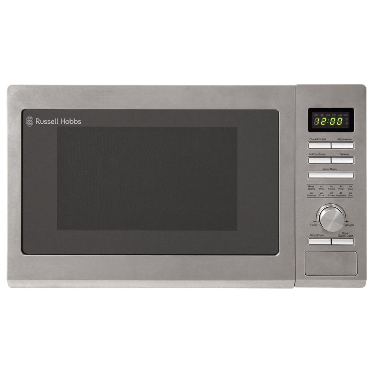 Russell Hobbs RHM3002 1100W 30L Combination Microwave - Silver