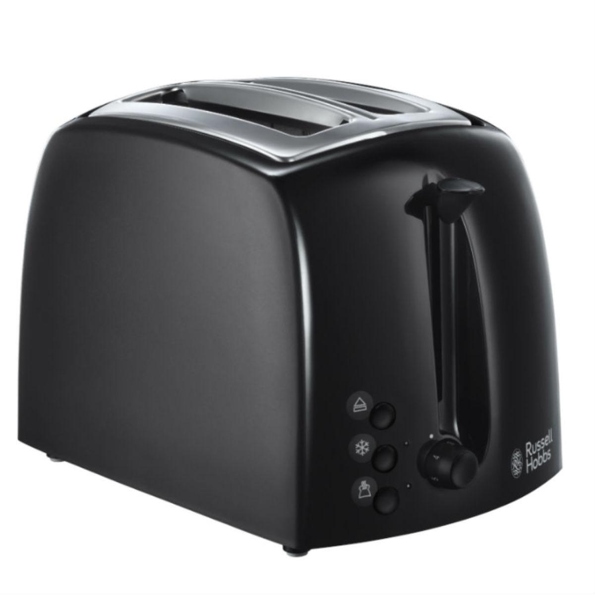 Russell Hobbs 21641 Textures 2-Slice Toaster - Black