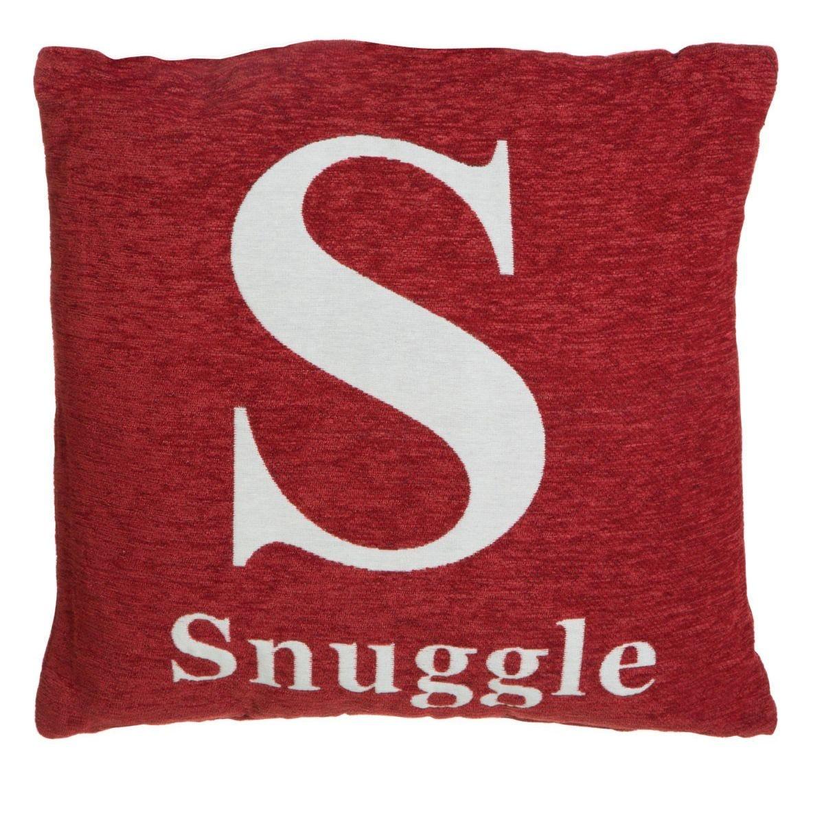Premier Housewares 'Snuggle' Cushion - Red