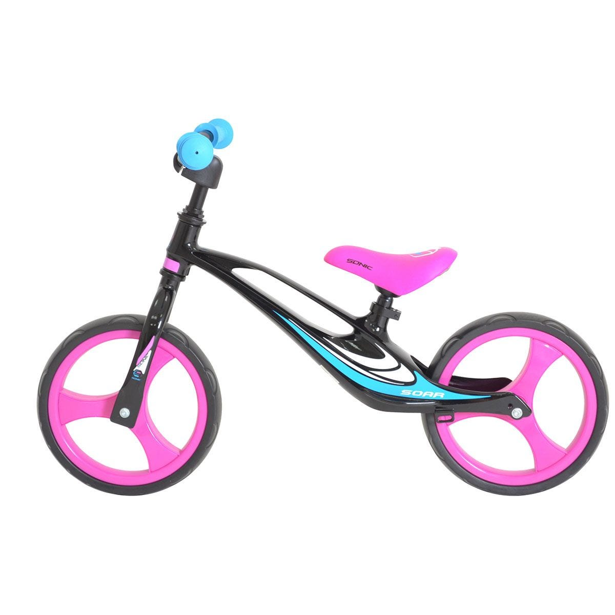 Sonic Soar Childs Lightweight  Balance Bike with Air Tyres