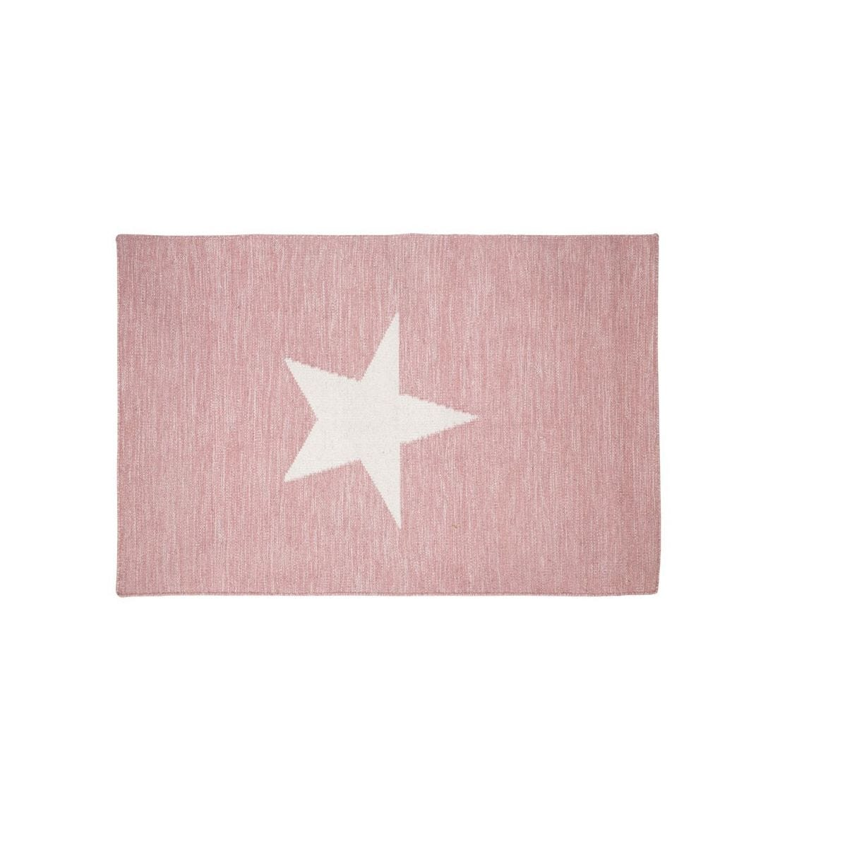 Premier Housewares Star Rug - Pink