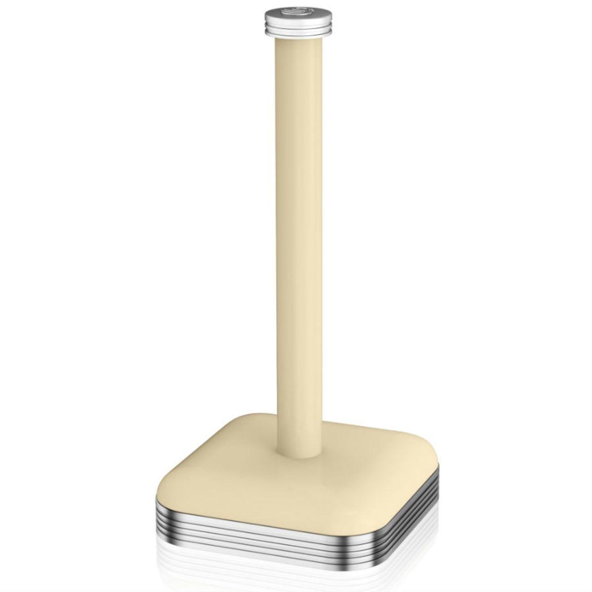 Swan Retro Towel Pole - Cream