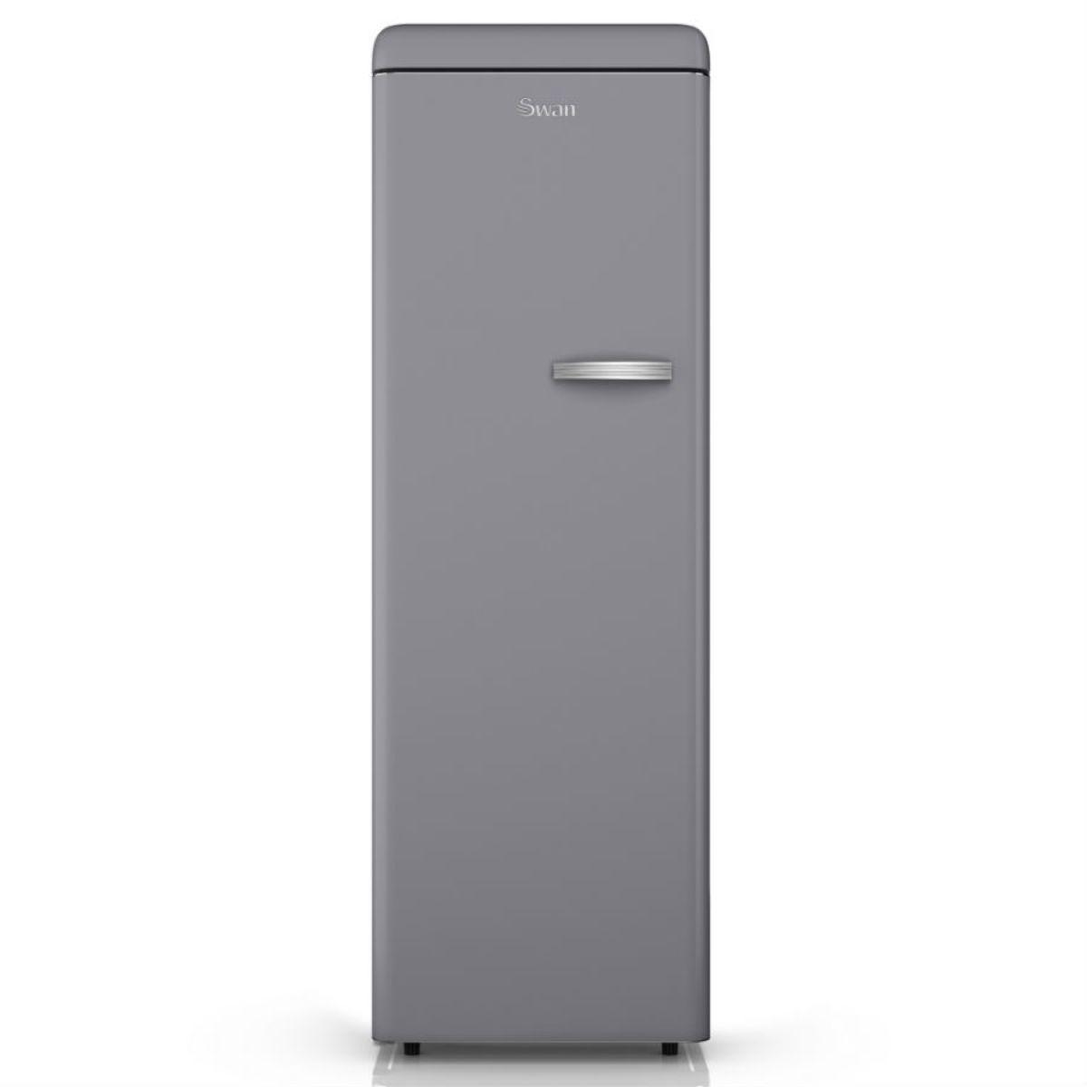Swan SR11040GRN Retro 230L Tall Freezer - Grey