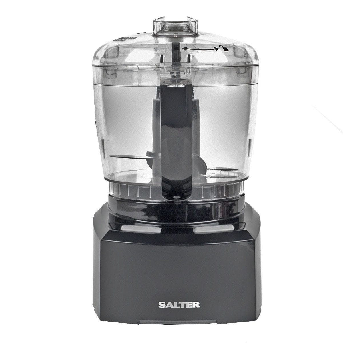 Salter EK3171 8-in-1 Compact Prep Pro Mini 200W Food Processor - Black