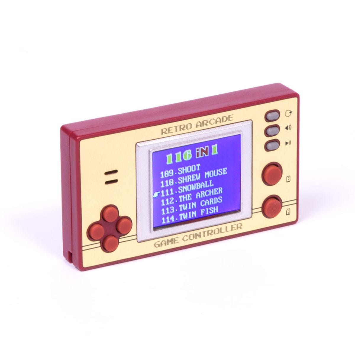 Retro Pocket Games with LCD Screen and 100 Games