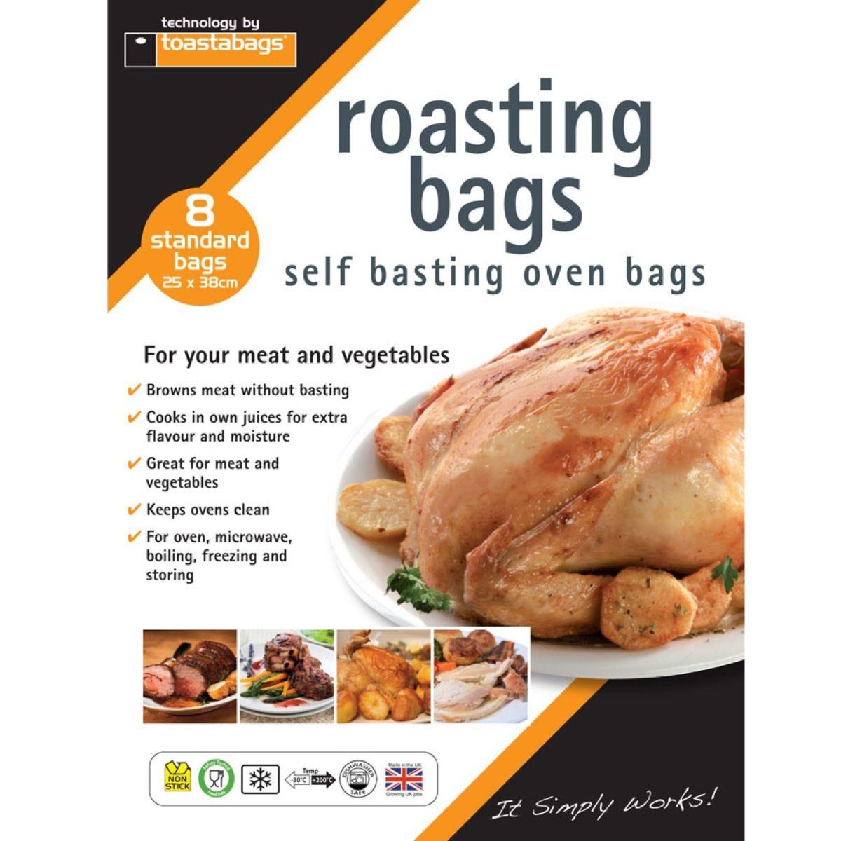 Toastabags Standard Roasting Bags - 8 Pack