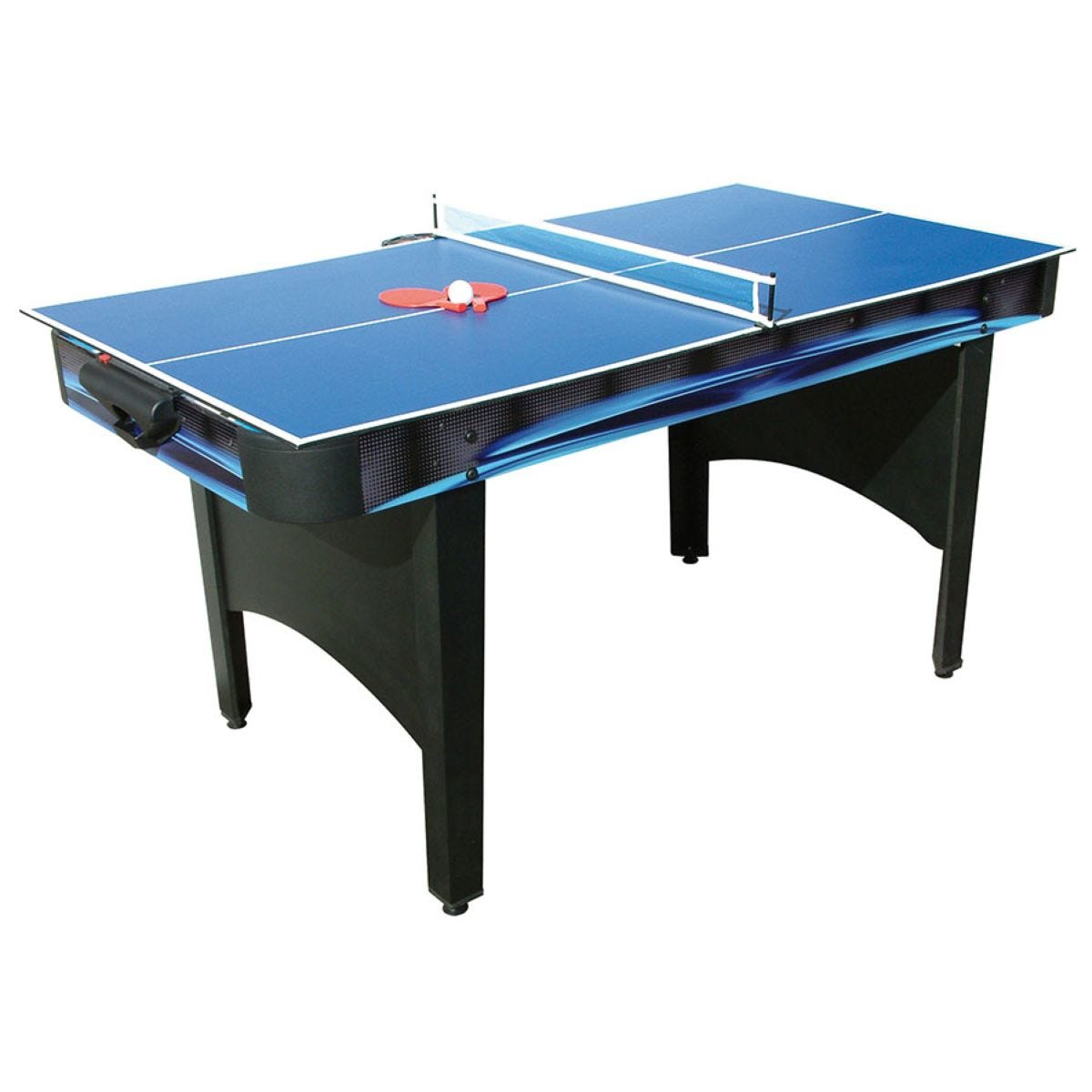 Mightymast Typhoon 6ft 2-In-1 Air Hockey and Table Tennis