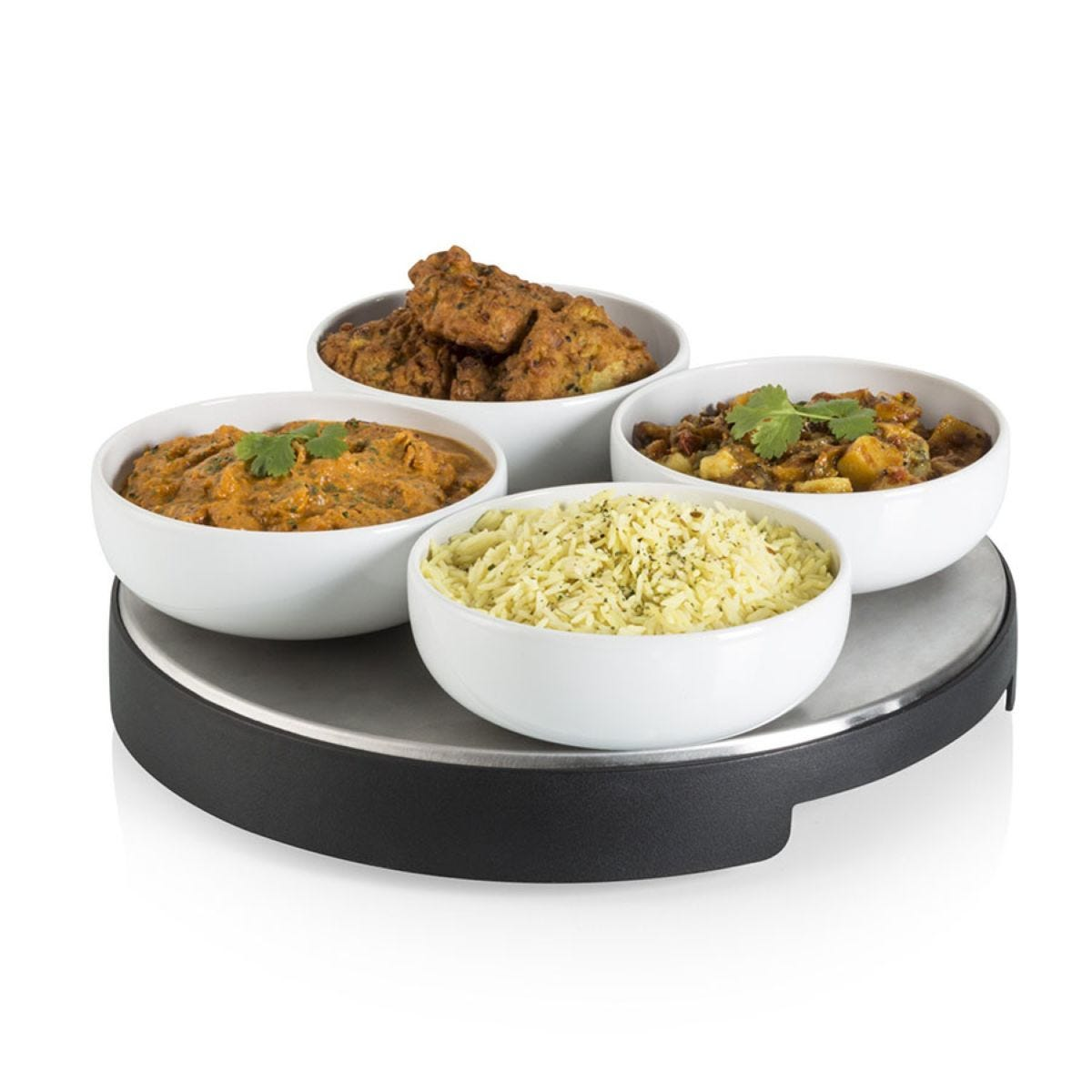 Swan SW13SS Cordless Heated Lazy Susan - Black