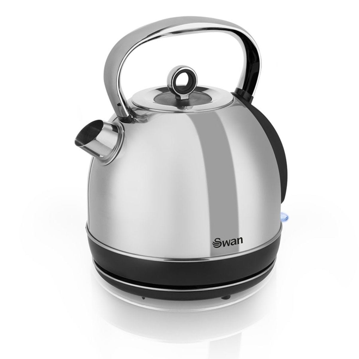 Swan SK14070N 1.7L Stainless Steel Dome Kettle