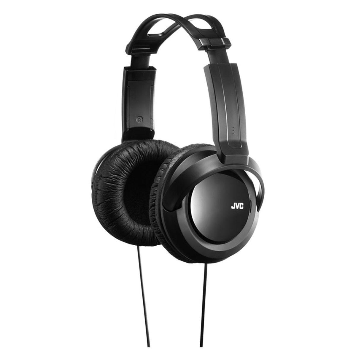 JVC Black Over Ear Deep Bass Headphones