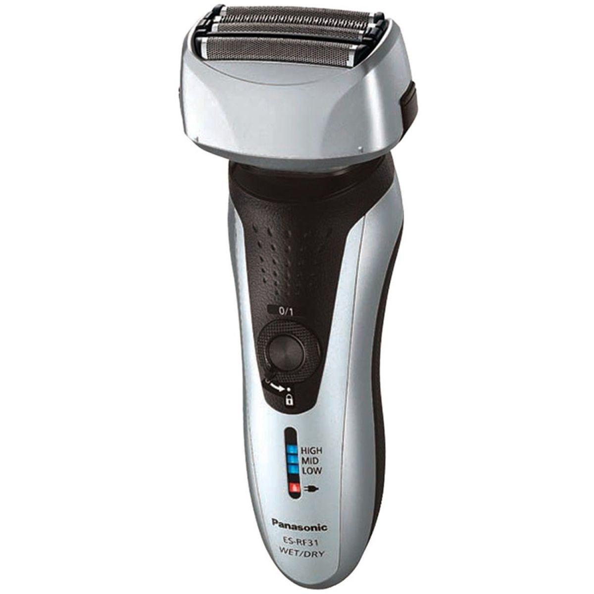 Panasonic Silver 4-Blade Wet and Dry Rechargeable Shaver