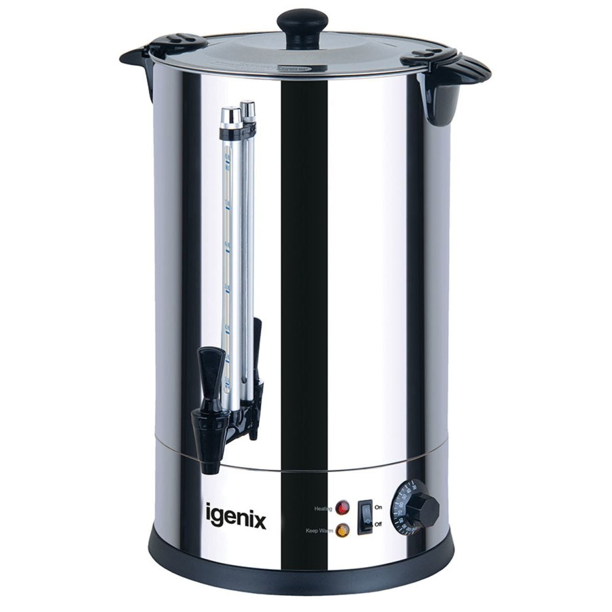 Igenix 8.8L Stainless Steel Catering Urn