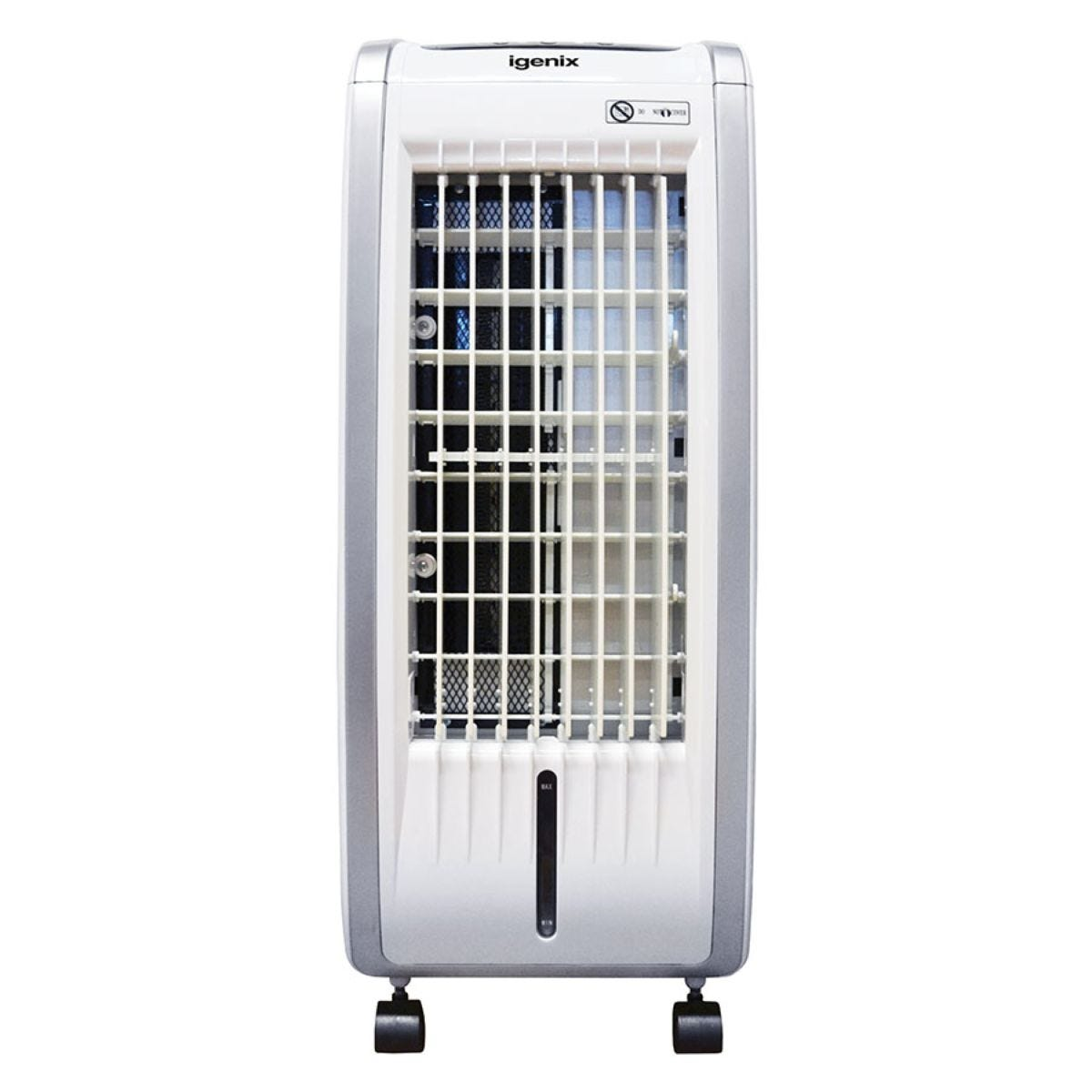 Igenix IG9704 4-in-1 Cooler, Heater, Ioniser and Humidifier 5L Evaporative Air Cooler - White