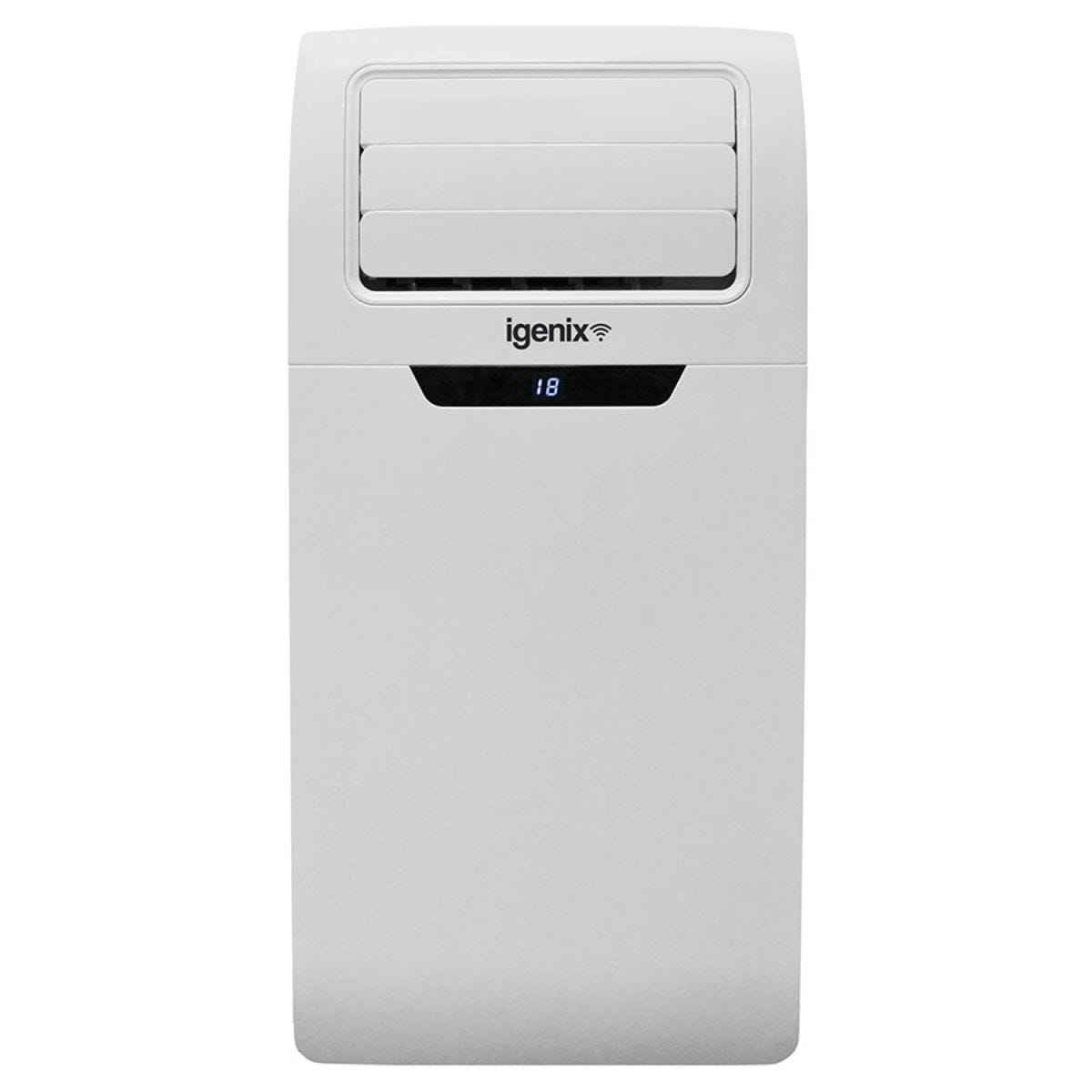 Igenix IG9901WIFI 9000BTU 3-in-1 Cooling, Fan and Dehumidifier Smart Home Portable Air Conditioner with WiFi - White