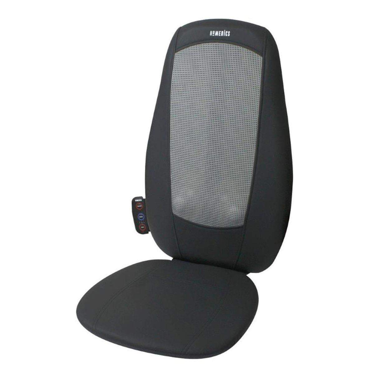 Homedics Shiatsu Massage Heat Cushion - Black
