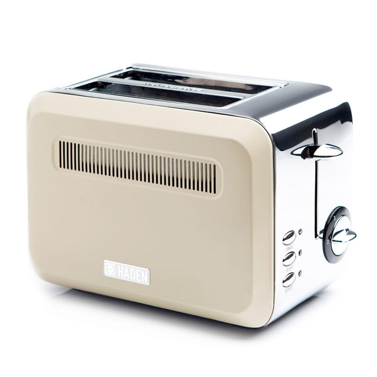 Haden 189745 Boston 980W 2–Slice Toaster – Cream