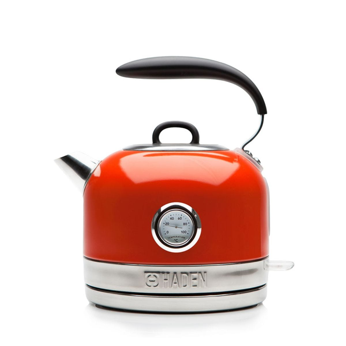 Haden 188847 Jersey Fast Boil 1.5L Cordless Retro Dome Kettle - Marmalade