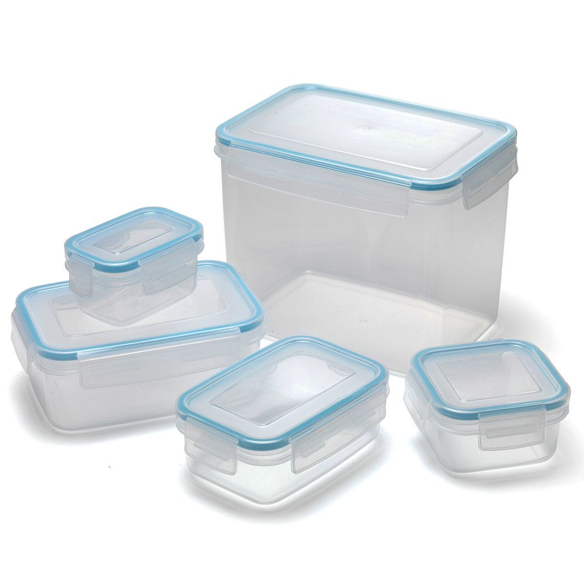 Addis Clip & Close 5-Piece Food Storage Set