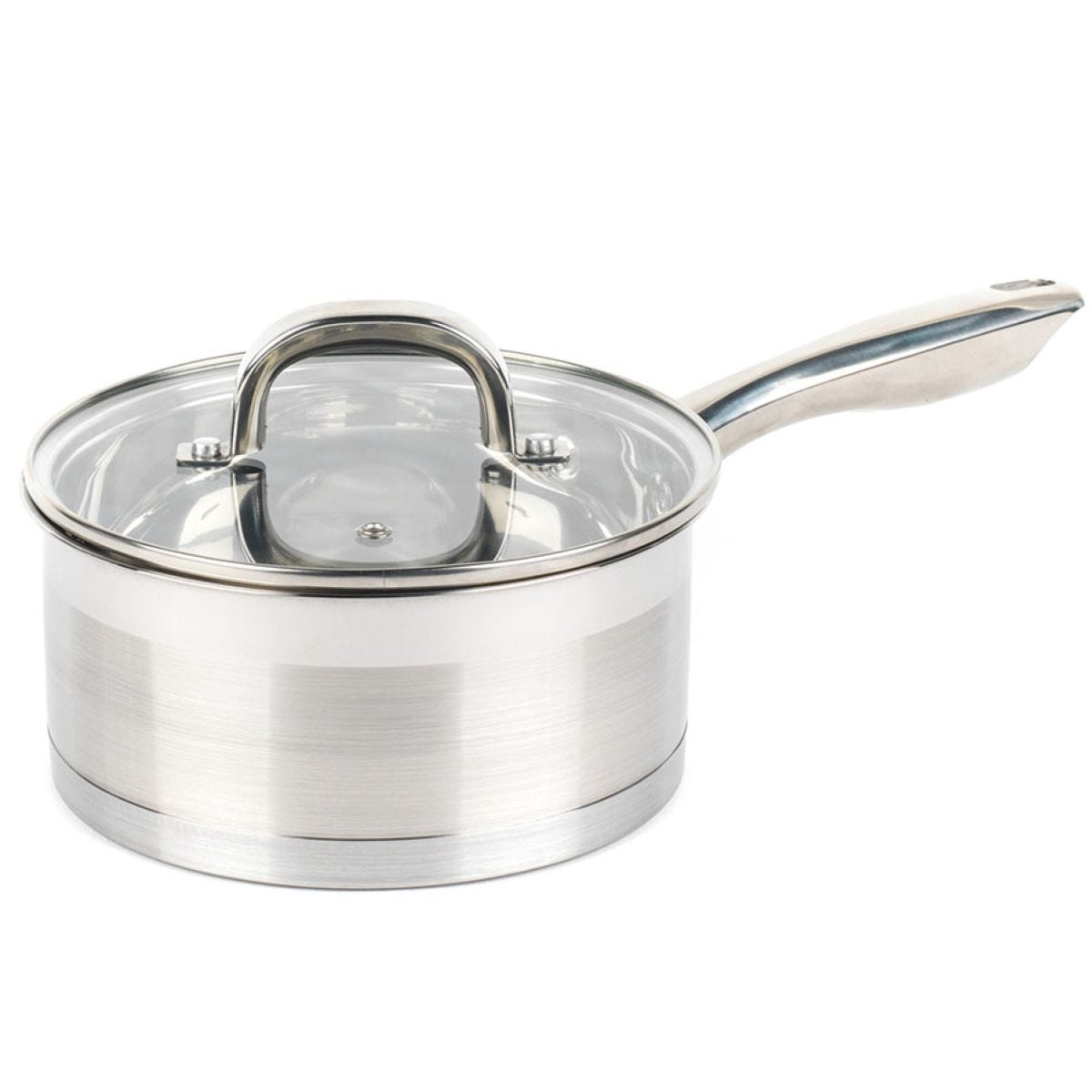 Salter 20cm Timeless Collection Saucepan - Stainless Steel