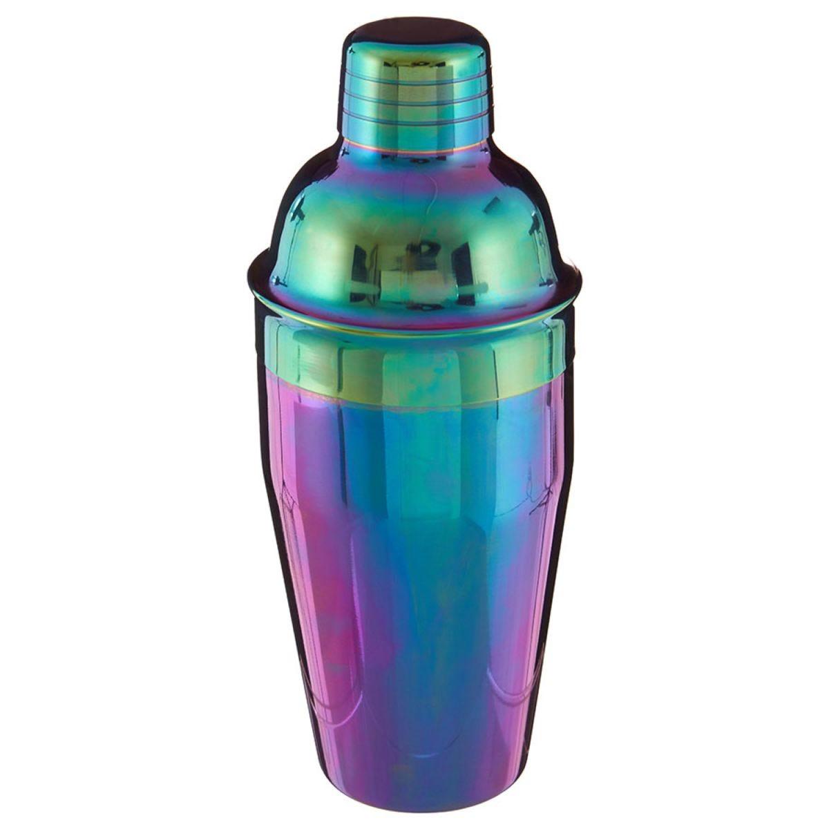 Premier Housewares 0.5L Cocktail Shaker - Rainbow
