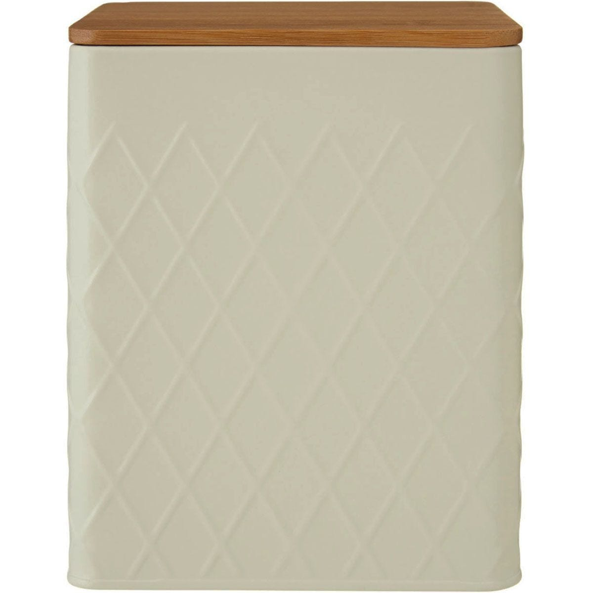 Maison by Premier Rhombus Metal Square Storage Canister - Large