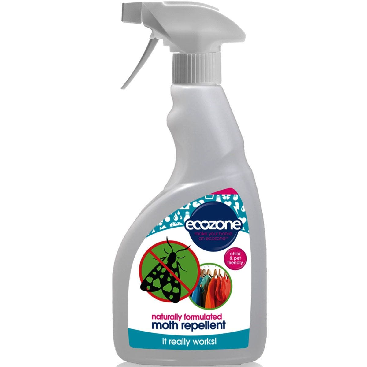 Ecozone Moth Repellent Spray - 500ml