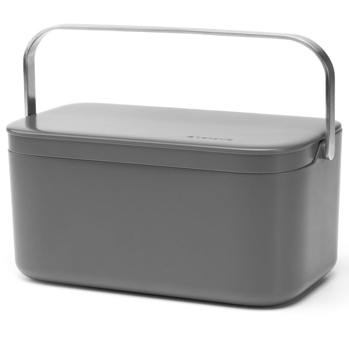 Brabantia Food Waste Caddy - Grey