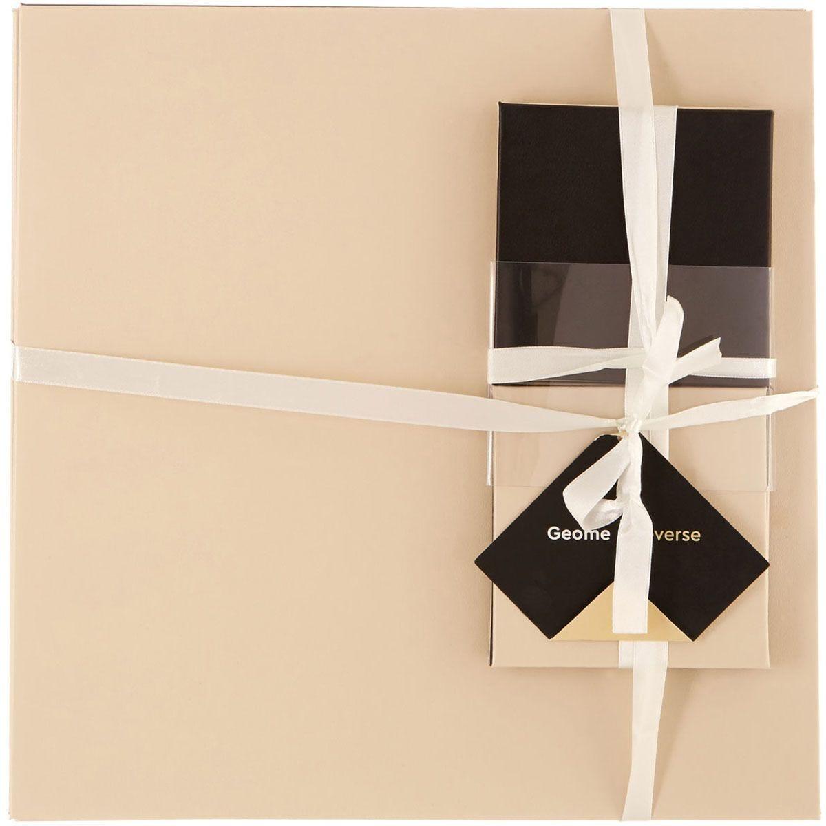 Premier Housewares Black Geome Reverse Coasters & Placemats - Set of 4