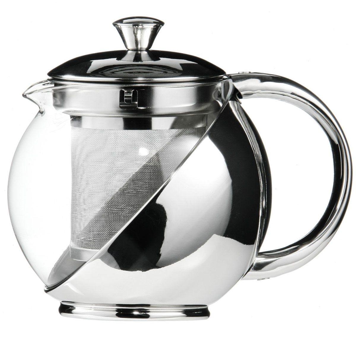 Premier Housewares Clear Glass Teapot - 500ml