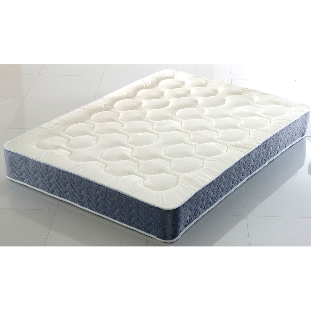 Comfy Deluxe Quilted Memory Orthopaedic Mattress - Grey