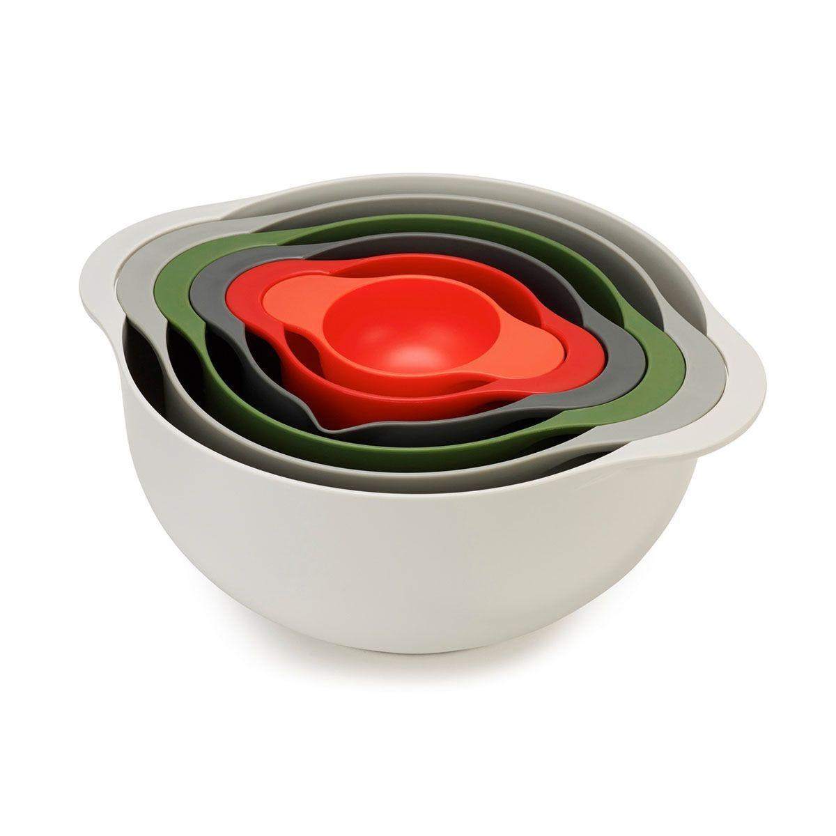 Joseph Joseph DUO 6-Piece Nesting Food Prep Bowl Set